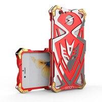 Yeni Simon zimon Serin Metal Alüminyum 7 THOR i6 için Zor Zırh IRON MAN Telefon kılıfı Anti-damla arka Kapak iphone 6 6 s 7 artı
