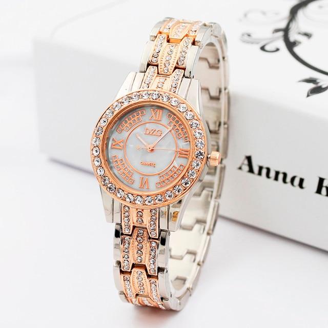 Luxury Ladies Watches Bracelet Metal Quartz Bracelet For Women Watches Women Wat