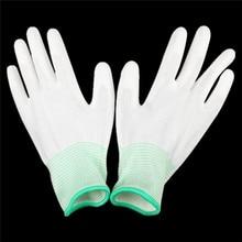 Антистатические садовые перчатки Антистатический ESD электронные рабочие устойчивые к порезам перчатки для защиты пальцев Прямая поставка