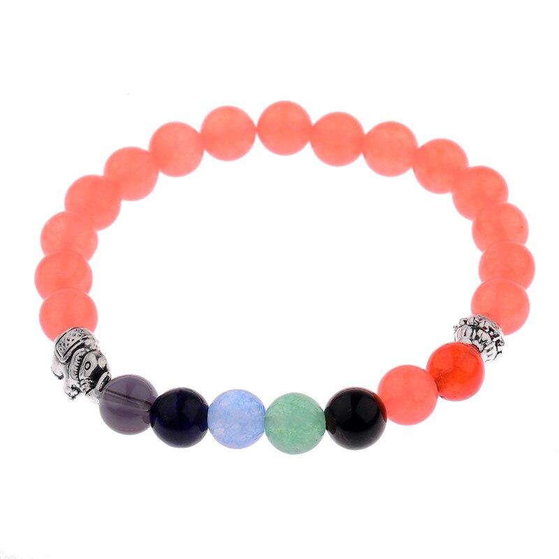 Online New 7 Chakra Colorful Mineral Beads Bracelets Bangles Natural Gem Stone Rosary Yoga Mala Bead Meditation Men Women Jewelry Aliexpress Mobile