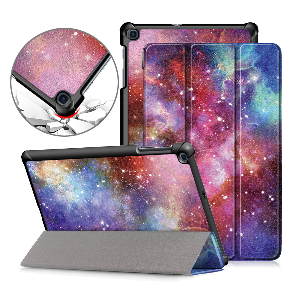 Case For Samsung Galaxy Tab A 10.1 SM-T510/T515 Magnetic Folding Stand Cover For Samsung Galaxy Tab A 10.1 2019 Case
