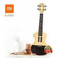 Xiaomi populele U1 интеллектуальные укулеле приложение 23 дюймов смартфон укулеле Уке для начинающих подарок Adapterization 4 струны гитары