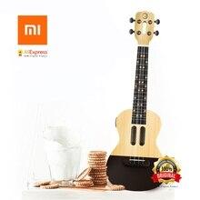 Xiaomi Populele U1 Intelligente Ukulele APP 23 zoll smartphone ukulele Uke für anfänger geschenk Adapterization 4 saiten Gitarre