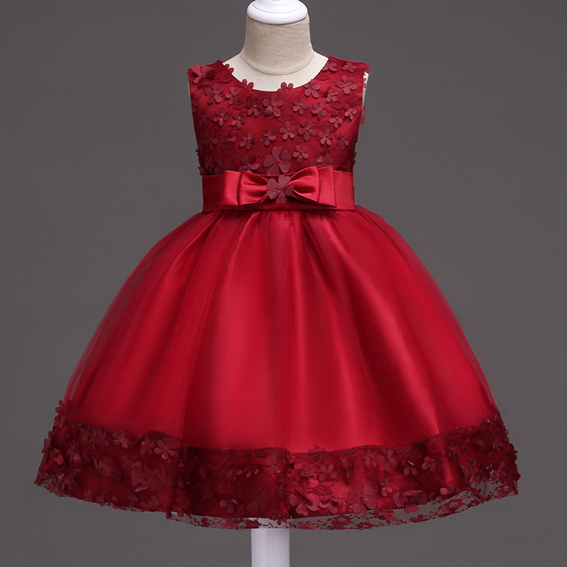 1 2 3 4 5 6 7 8 9 10 Years Kids Clothes Baby Girls Dress Summer Children Wedding Dresses for Girls Party Evening Gowns Flower girls dress summer girl floral princess party dresses children clothing wedding tutu baby girl clothes 2 3 4 5 6 7 8 9 10 years