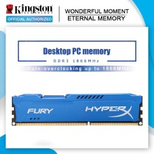 Original Kingston Blau Serie HyperX FURY DDR3 8GB 1866MHz DIMM Intel Gaming Speicher Für Desktop PC