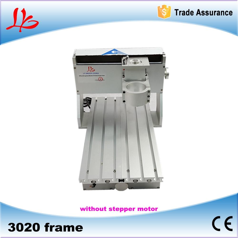 New 3020 CNC frame CNC 3020 mini lathe machine assembled best quality to Russia free tax