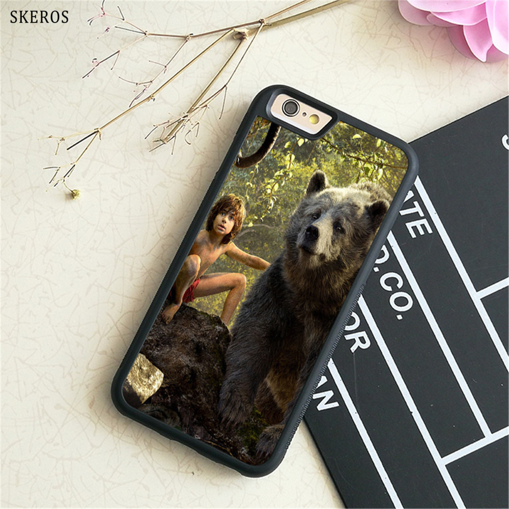 SKEROS The Jungle Book 7 phone case for iphone X 4 4s 5 5s 6 6s 7 8 6 plus 6s plus 7 & 8 plus #B752