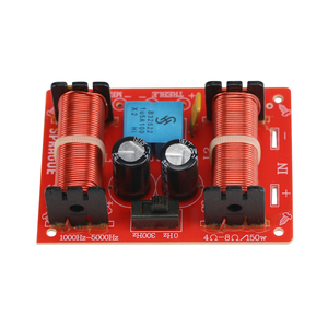 Image 4 - GHXAMP 150 واط 3 طريقة كروس المتكلم باس مكبر الصوت Midrange ل 10 بوصة مكبر الصوت المتكلم المسرح المنزلي تصفية 12db 45 هرتز 20 كيلو هرتز 2 قطعة