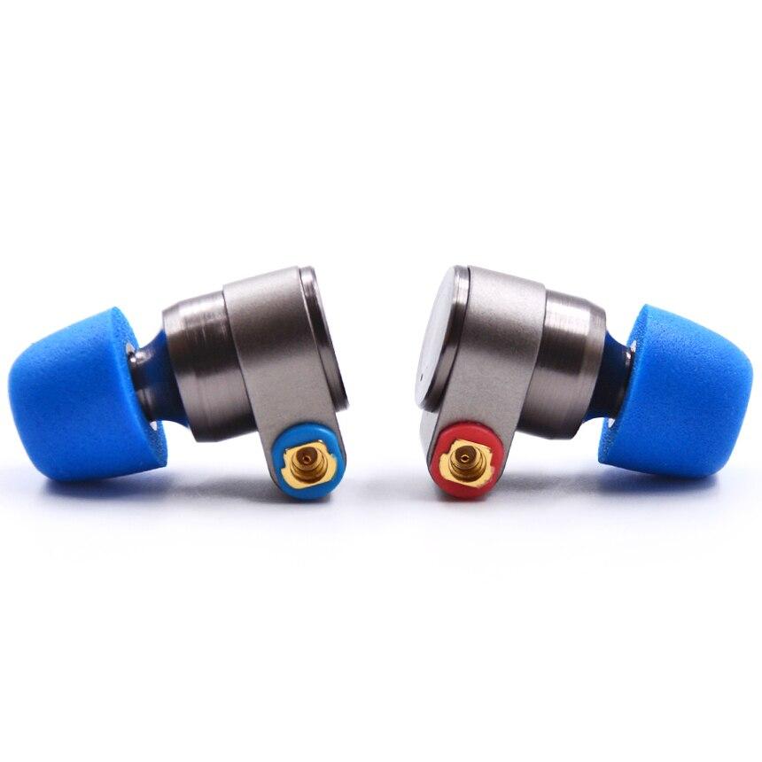 ÉTAIN Audio T2 3.5mm Dans L'oreille Écouteurs Double Dynamique Lecteur HIFI écouteurs Basse DJ Écouteurs En Métal MMCX Écouteur Casque T515 Ttpod T2