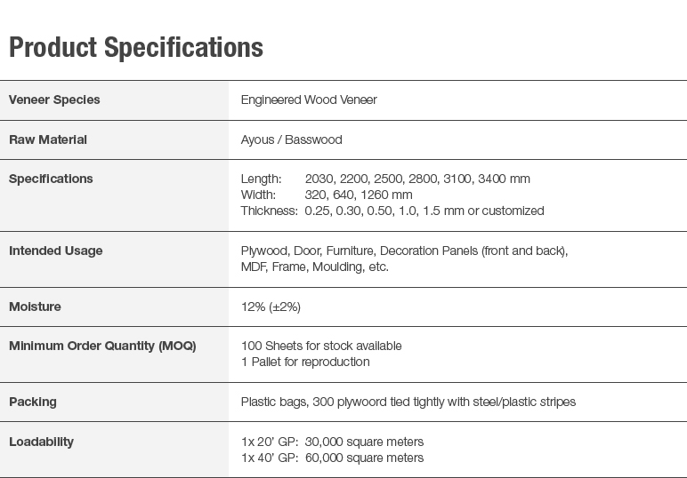 5 Specifications