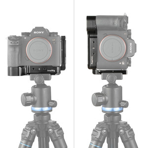 Image 5 - Smallrig A7M3 A7R3 L Beugel Voor Sony A7SIII A7III A7RIII A9 Arca Swiss Standaard L Plaat Montageplaat 2122