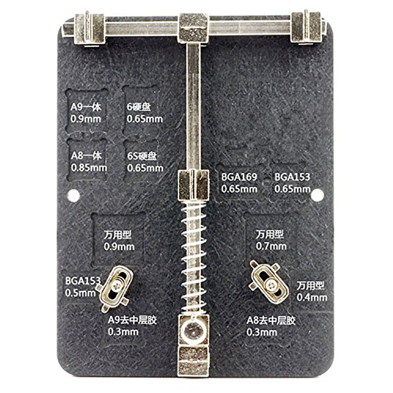 Universal Stainless Steel Circuit Board PCB Holder Jig Fixture Work Station For iphone 5 8 Samsung