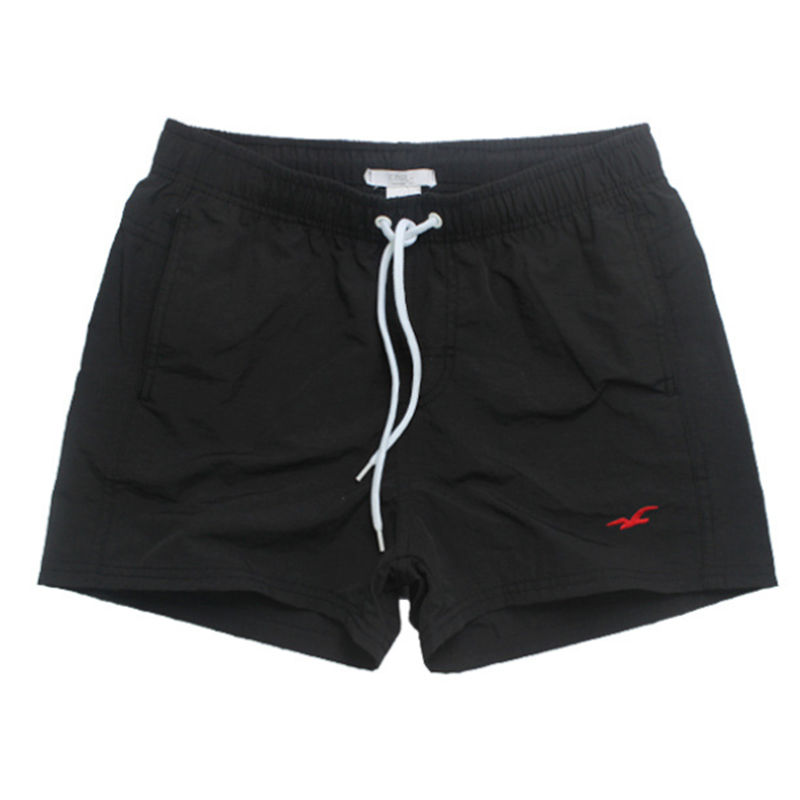 Mesh Lined Mens Swimming Shorts Nylon Quick Dry Swimwear Men Short Surf Swim Trunks ...