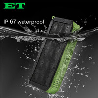 E T Bluetooth speaker Portable Wireless Loudspeakers For iPhone Xiao mi Stereo Music surround Waterproof Outdoor Speakers Box