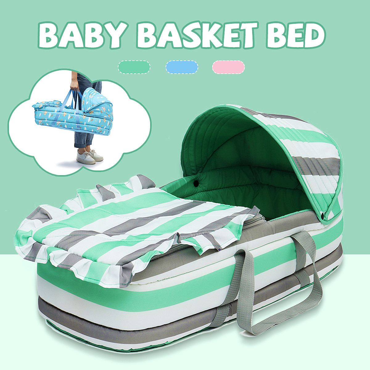 Newborn Bassinet Best Portable Baby Bed Baby Bassinet Bed For 8month Baby Basket