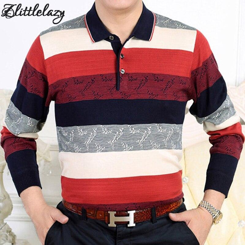 2018 marca polo de manga longa homens da camisa listrada slim fit mens  camisa polos camisas masculino blusas poloshirt camisa roupas 71888 1db07ab305065