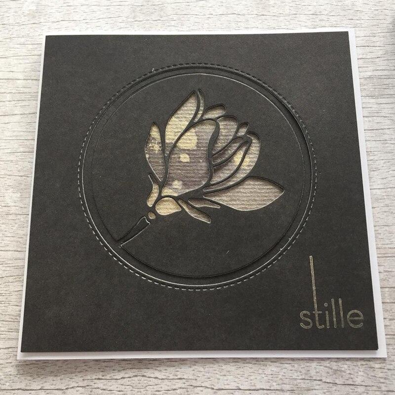 JC Metal Cutting Dies for Scrapbooking Craft Dies Cut Blessing Flower Stencil Folder Paper Card Making Model Decoration 2019 Die in Cutting Dies from Home Garden
