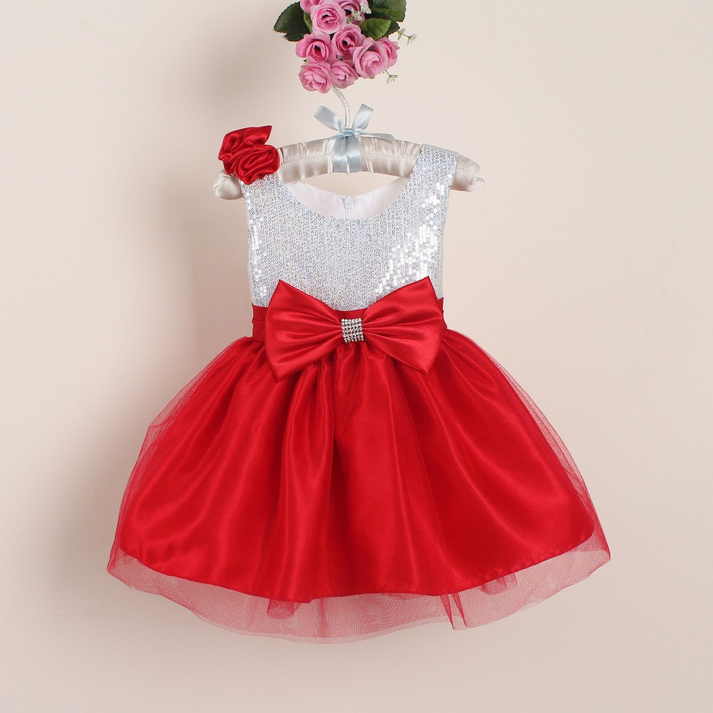 Hot Sale 0 4T Floral Baby Girl Part Dress Princess Summer -3462