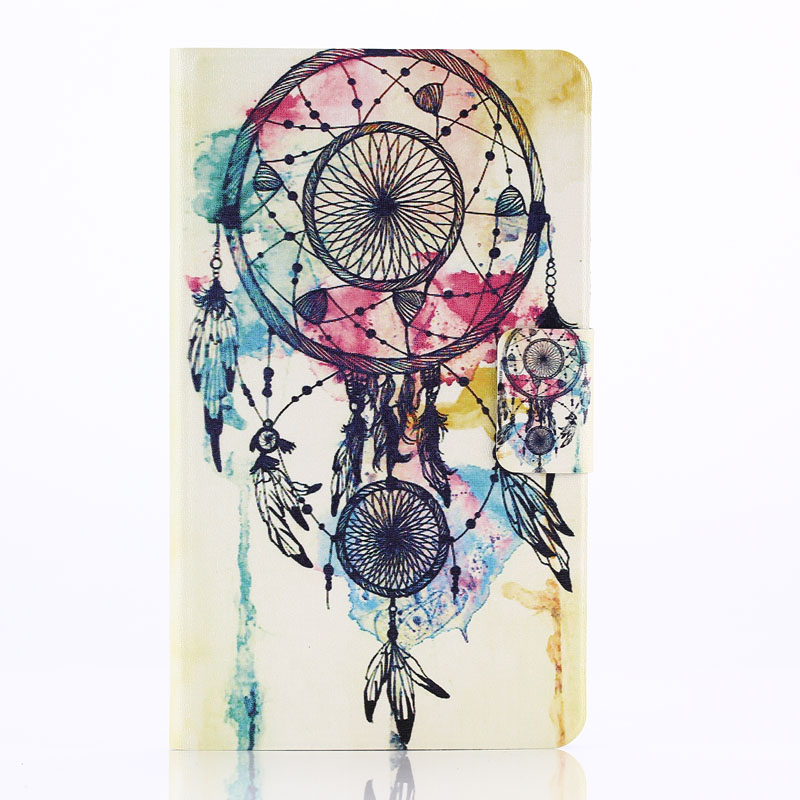 TOP QUALITY Dream Catcher Leather Case Cover for Samsung Galaxy Tab 4 7.0 7inch SM-T230 APR 7