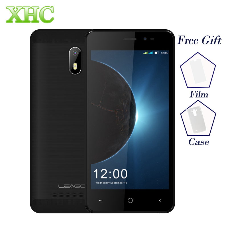 LEAGOO Z6 1GB+8GB 4.97inch Mobile Phones Android 6.0 MT6580M Quad Core 2.0MP+5.0MP GPS WIFI FM Dual SIM WCDMA 3G Smartphones