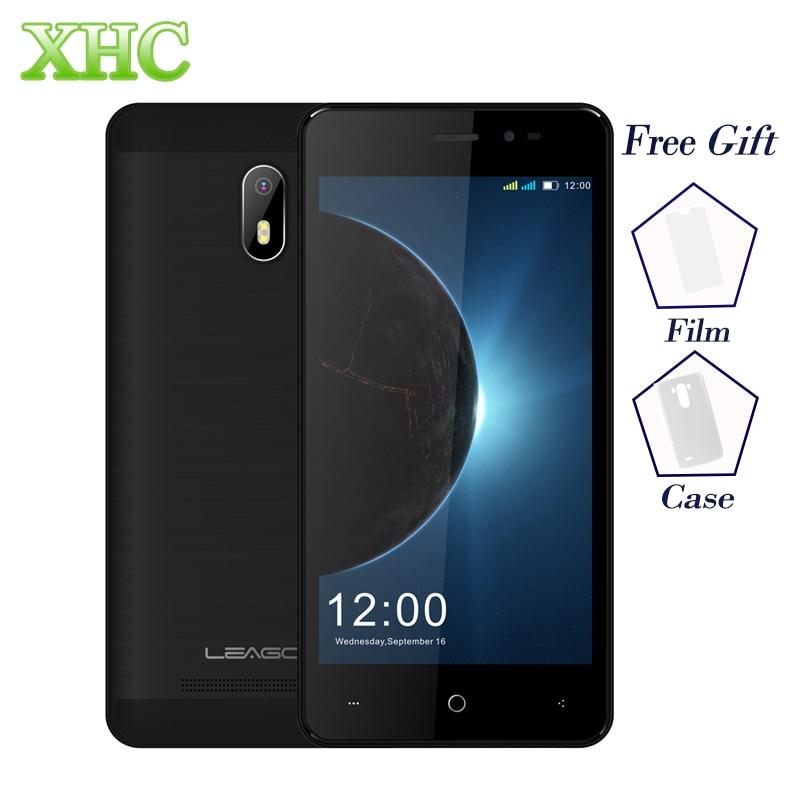LEAGOO Z6 1GB+8GB 4.97inch Mobile Phones Android 6.0 MT6580M Quad Core 2.0MP+5.0MP GPS WIFI FM Dual SIM WCDMA 3G Smartphones