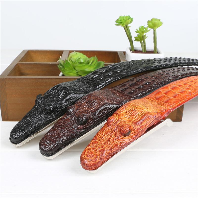 Acheter Ceintures De Crocodile Pour Les Hommes En Peau De Vache En ... 411fbc0ec4c