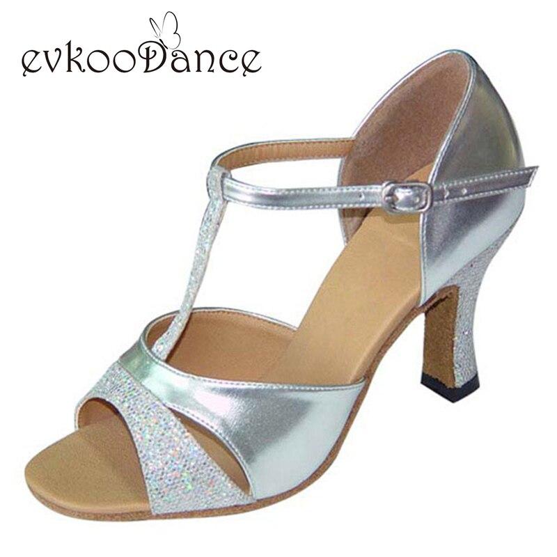 Silver Dancing Shoes Ladies
