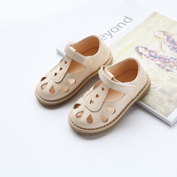 Girls Sandals Hollow Lovely Baby Summer Shoes Casual Children Beach Shoes 2017 New Fashion Kids Sandals