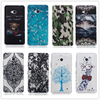 Skid Clear pattern soft TPU Case For Microsoft Nokia Lumia 640 N640 Case Back Protect Skin Rubber Phone Cover Silicone Gel Case