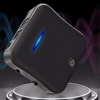 Wireless Adapter 5.0 Universal Bluetooth Transmitter Car Audio Receiver APTX HD USB Portable CSR8675 Speaker Black