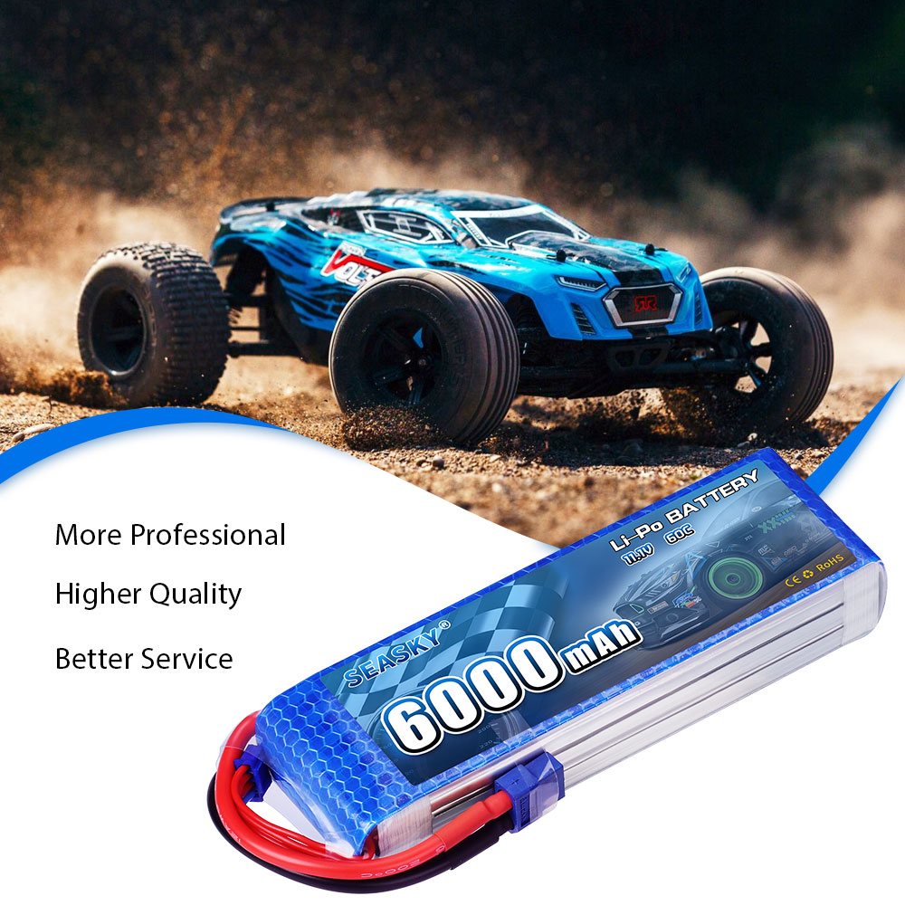 Image 5 - SEASKY 3S lipo Battery 11.1V 6000mAh 60C RC battery lipo 11.1V battery XT60 for FPV drone-in Parts & Accessories from Toys & Hobbies