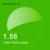 Índice de 1.56 Lentes de Resina Asférica Óculos Lentes de Prescrição para Miopia Hipermetropia Presbiopia Óculos de Lente com Revestimento Verde