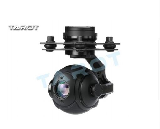 Buy TAROT PEEPER T10X 250ma Burshless Gimbal FPV Sferische High Definition TL10A00 met HD Camera for only 741.06 USD