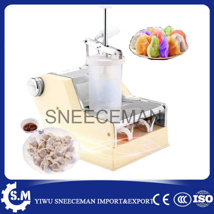 Household dumpling machine Mini manual dumpling machine maker hand-cranked chaotic dumpling machine high quality household manual hand dumpling maker mini press dough jiaozi momo making machine