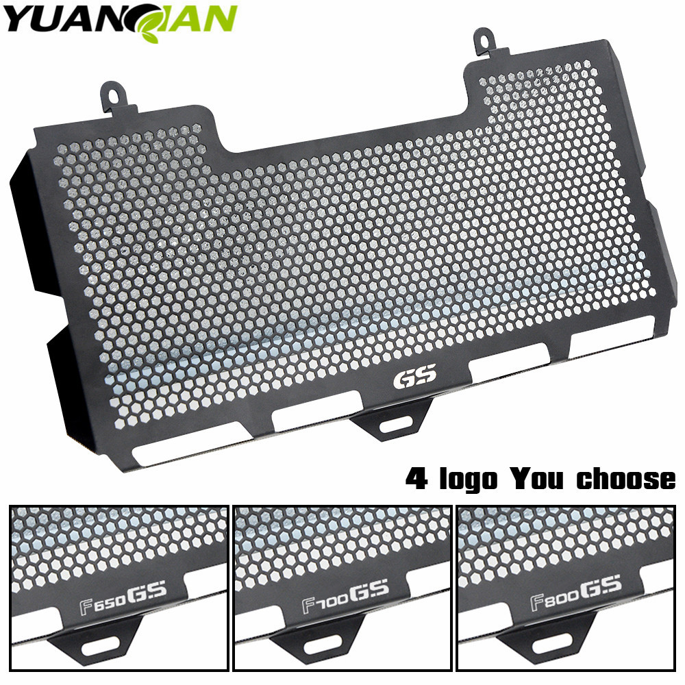 Motorcycle Radiator Guard Grille Cover Stainless Steel Cooler Protector For BMW F650GS F700GS F800GS F800S F800 GS AccessoriesMotorcycle Radiator Guard Grille Cover Stainless Steel Cooler Protector For BMW F650GS F700GS F800GS F800S F800 GS Accessories