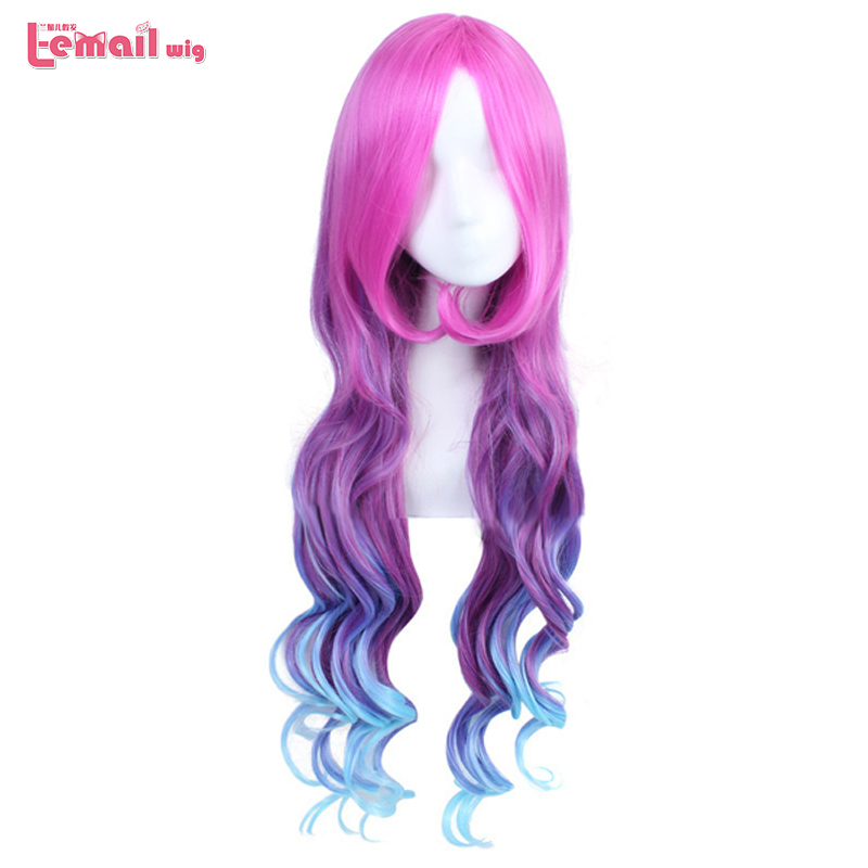 L email wig Game Character LOL Miss Fortune Cosplay Wigs ...
