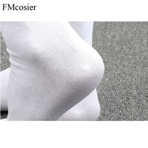 Image 5 - 10 Pairs Spring Summer High Quality Funny Cotton 5 Finger Toe Dress Socks for Men Sokken Socken Black White 39 40 42