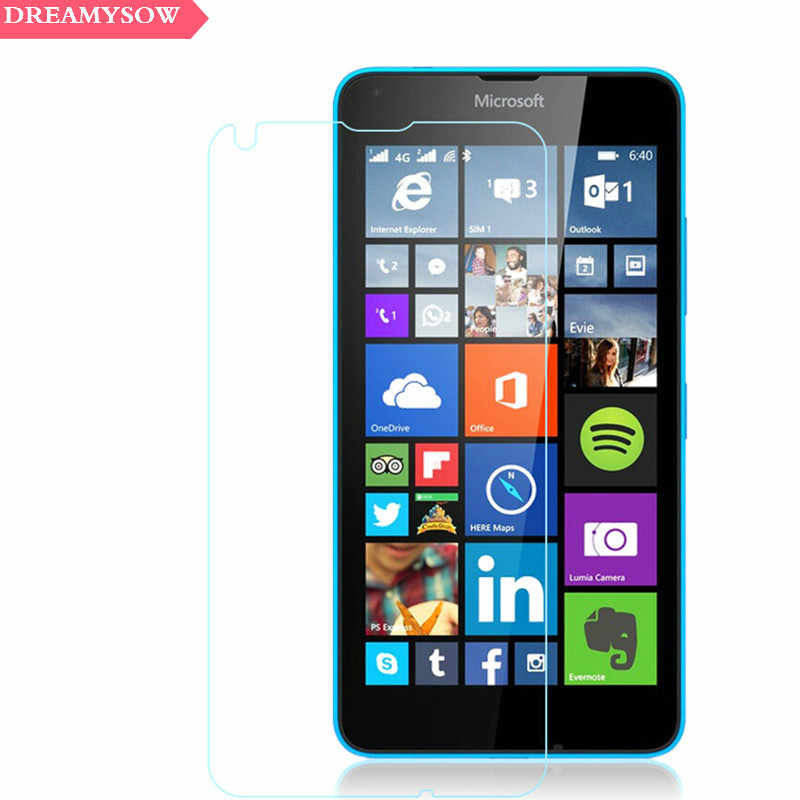 Dreamysow Tempered Glass For Nokia 2 3 5 x6 2018 2 3 5 7 Screen Protector  For Microsoft Lumia 535 630 635 640XL Front Film