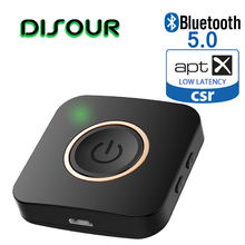 Transmisor de receptor Bluetooth inalámbrico 2 en 1 con Chip CSR8675, adaptador Bluetooth TXRX para coche, PC, TV, altavoz, APTX HD, baja latencia, 5,0