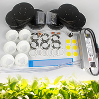 200W 300W 450W CREE Cob CXB3590 led grow lights Kit 3000K / 3500K with Meanwell dimmable DIY Led controller HLG 185H C1400B