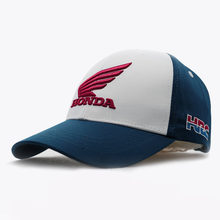 Baseball Cap Embroidery Mens Womens Baseball Caps Motorcycle Fans Cap Snapback Hats Bone Hip Hop Cap Hat Honda Racing Car Fans1(China)