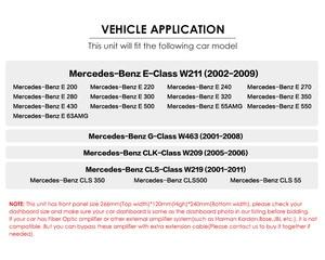 Image 2 - Reproductor de DVD para coche Mercedes Benz Clase E W211 W209 W219 Radio Estéreo, sistema de navegación GPS, DAB BT, USB, cámara gratis + 8gMap, novedad de 2019