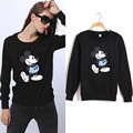 2017 Fashion Mickey Mouse Sweatshirt Women Spring Winter Hoodies Cartoon Character Pattern Casual Sweatshirt Hoody Sweats