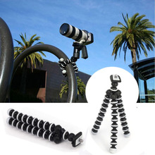 Octopus Mini Tripod Stand Mount For Mobile Phone Gopro Hero 7 6 5 4 3+ Session SJcam Xiaomi Yi 1 2 4K Action Camera Accessories