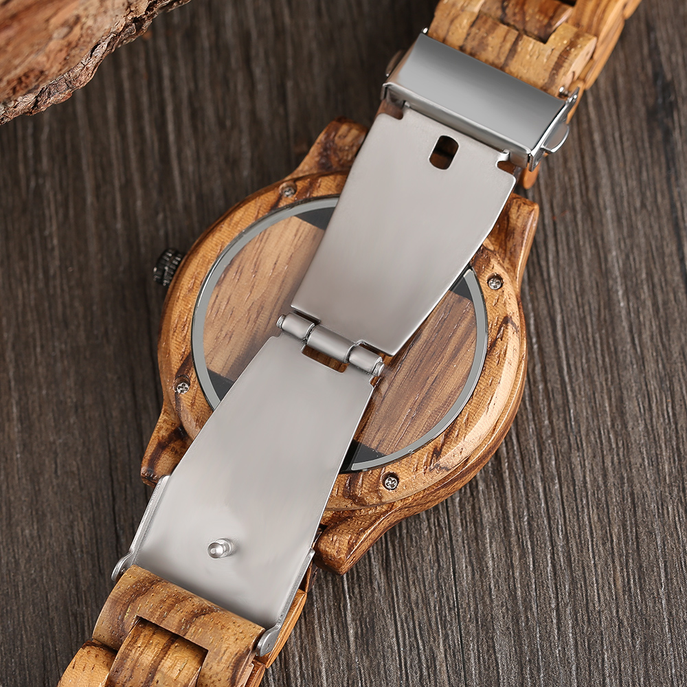 YISUYA Creative Men Hollow Bamboo Wooden Watches Fashion Watches Unique Handmade Wood Wristwatch Sport 17 New Women Relogio 6