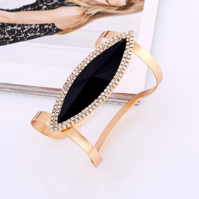 Lzhlq 2021 новый модный длинный металлический браслет для женщин