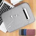 Ноутбук Сумка для ноутбука Чехол Для Xiaomi Воздуха 13 Macbook Pro 12 случае Macbook Air 11 Macbook air 13 Случай Macbook Портативный Ноутбук мешок