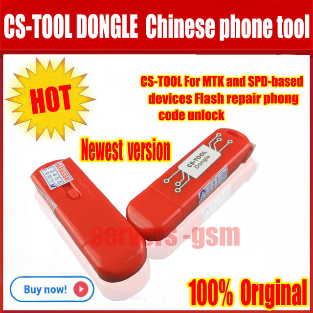 US $63 6 |Newest version Cs tool dongle for Chinese phone service tool for  supports MTK and SPD based devices Flash, repair, code unlock -in Telecom