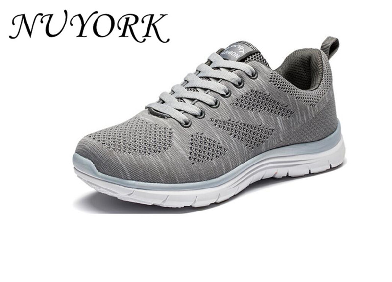 New listing hot sales Spring and summer Breathable sports shoes men Flying line knitting running shoes JSH1997