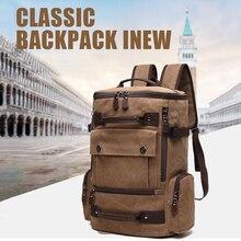 School Bag Laptop Backpack Canvas Men Women 15.6 Notebook Bagpack Male Female Large Travel Back Pack For Teenage Boy Girls Bags